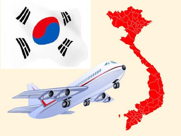 Gửi hàng từ Việt Nam đi Hàn Quốc