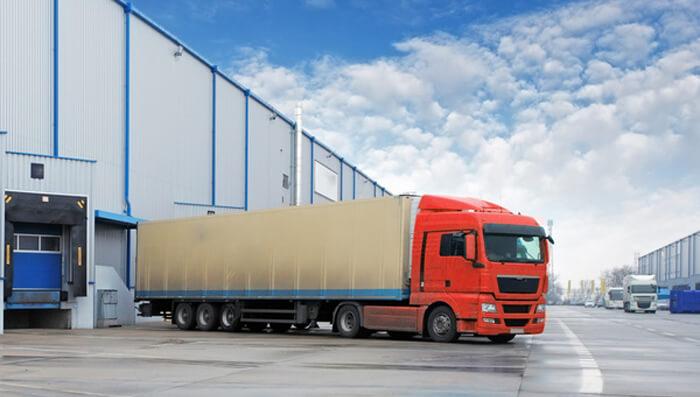 vận chuyển hàng nội địa bằng xe container