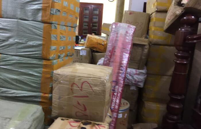 hàng vận chuyển tiểu ngạch về kho dhd logistics