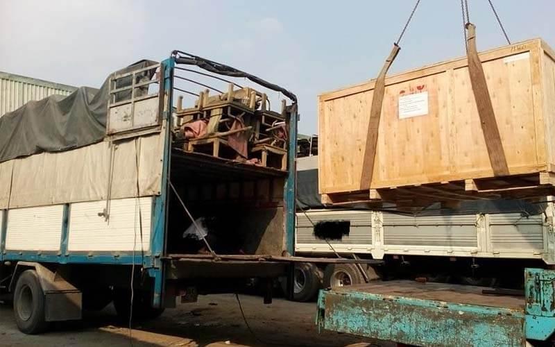 vận chuyển hàng hóa lào