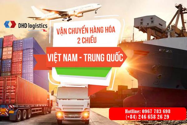 Vận chuyển hàng Trung Quốc giá rẻ về Việt Nam