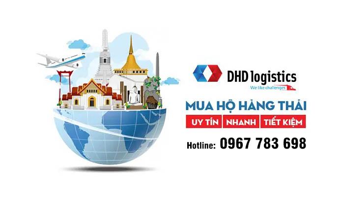 DHD Logistics mua hộ hàng hàng thái lan