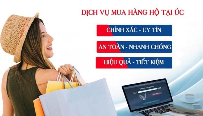 Dịch vụ mua hộ hàng ÚC chuyên nghiệp, giá rẻ