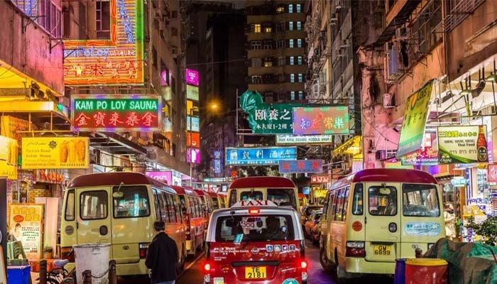Mua sắm ở Hồng kông