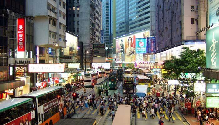 Trung tâm thương mại mua sắm ở hongkong