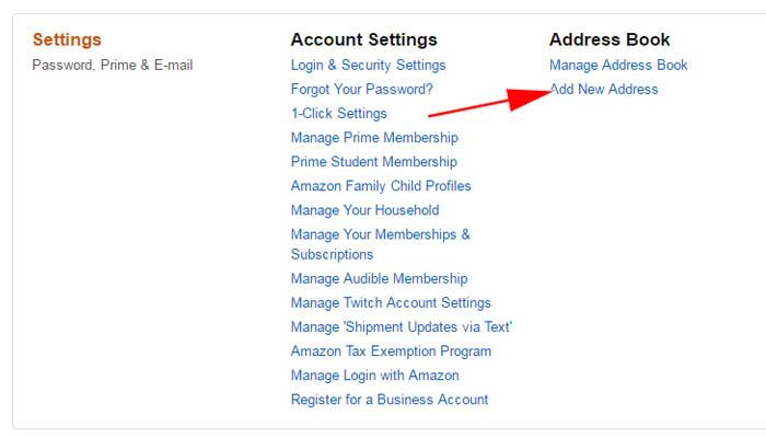 điền form thông tin địa chỉ nhận hàng