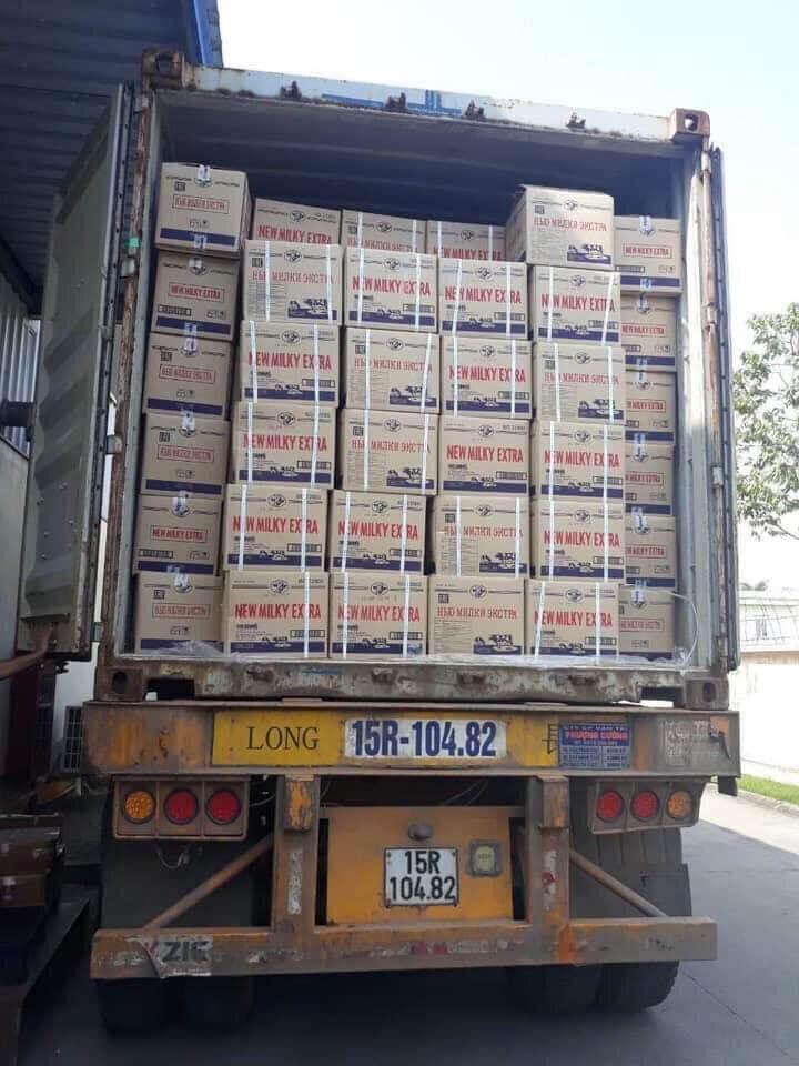 dhd chuyển hàng bắc nam bằng container