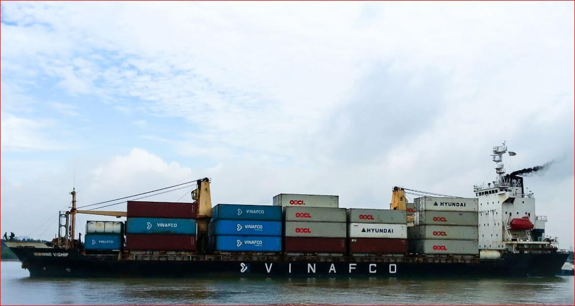Hãng tàu vận chuyển hàng vinafco