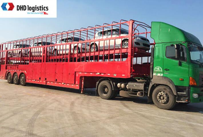 dịch vụ vận chuyển ô tô từ Bắc vào Nam