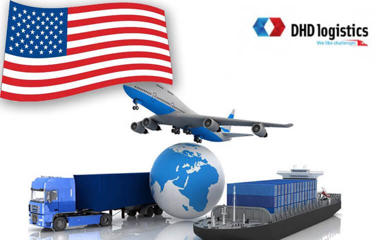 DHD nhận gửi hàng đi mỹ tại bình dương